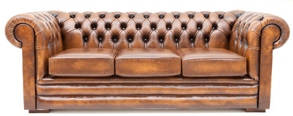 CHiLLi PiP Furniture - CHESTERFIELD LEATHER LOUNGE
